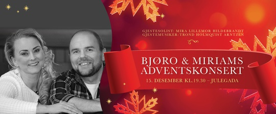 Bjøro & Miriams Adventskonsert